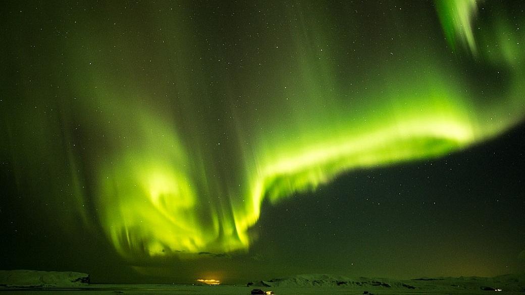 Northern Lights, Vik, Iceland