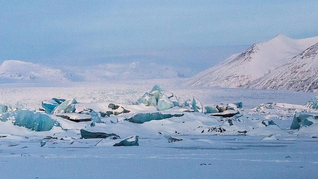 Jokulsarlon, glacier bay Iceland