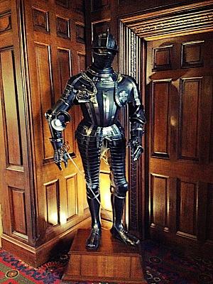 Ashford Castle lobby