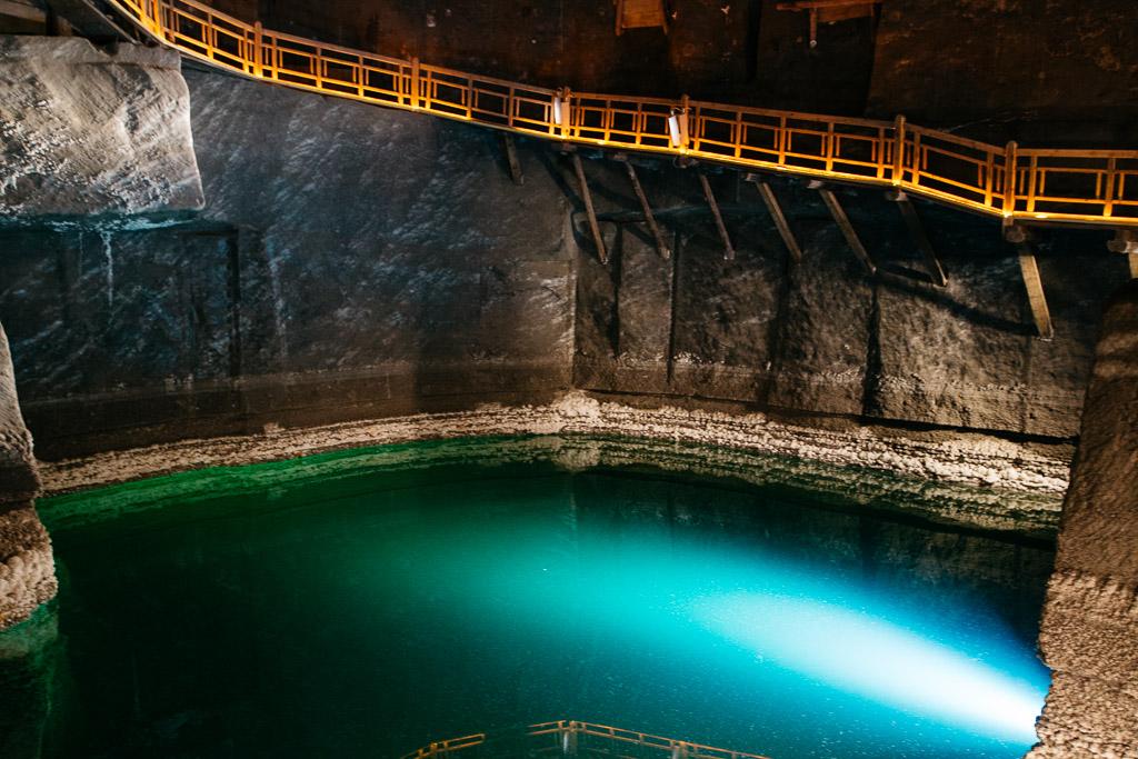 Inside the Wielicka Salt Mines