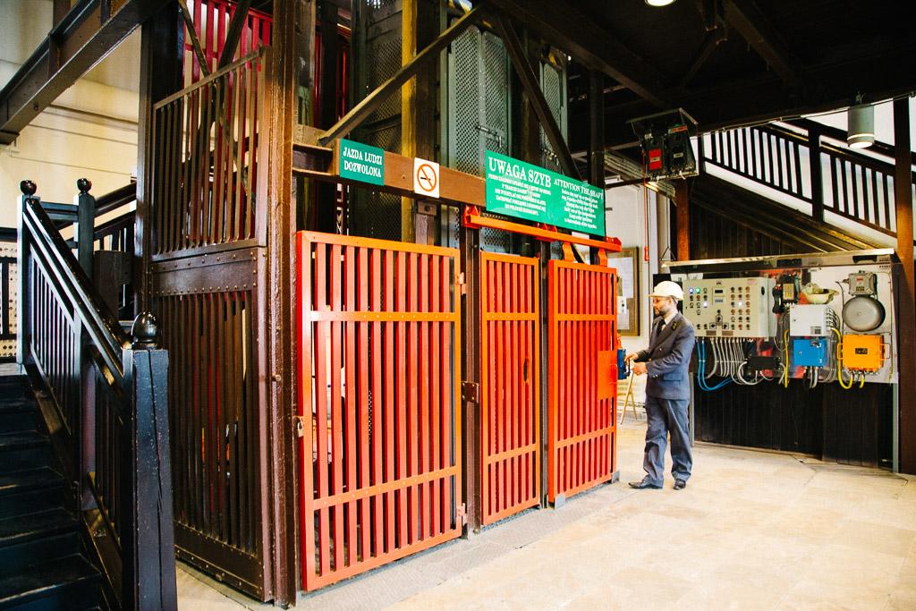 Wielicka salt mines elevator