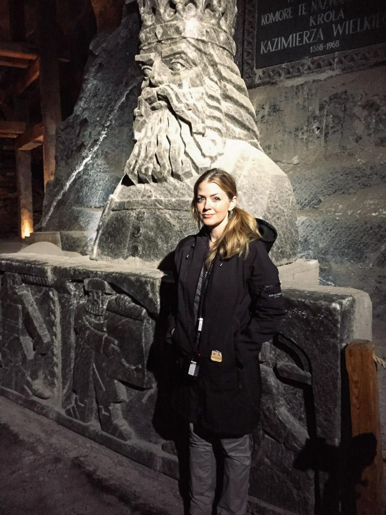Salt King at the Wielicka Salt Mine