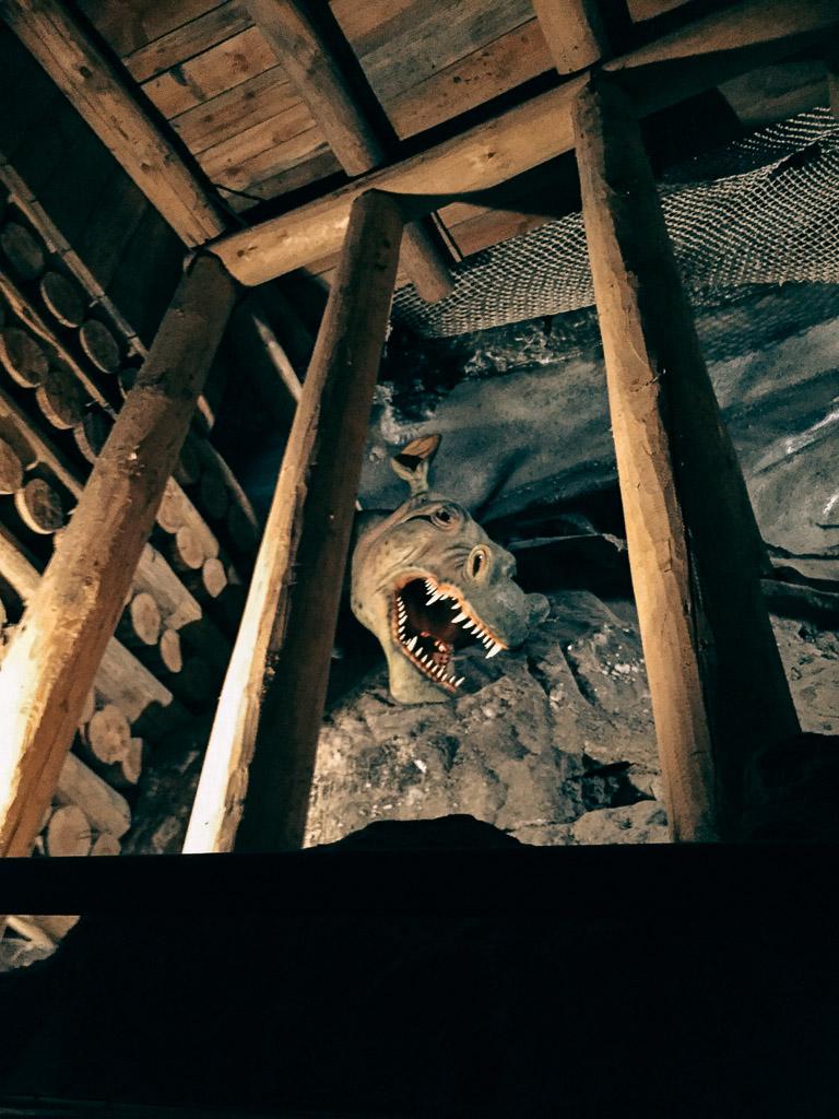 Underground Wielicka Salt Mines