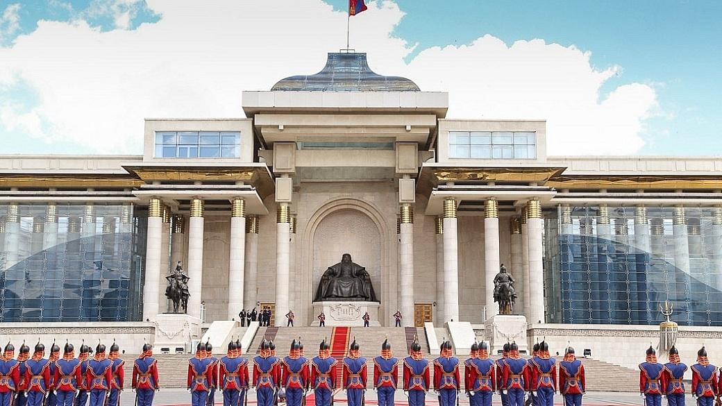 Chinggis Khan Palace in Ulaanbaatar, Mongolia