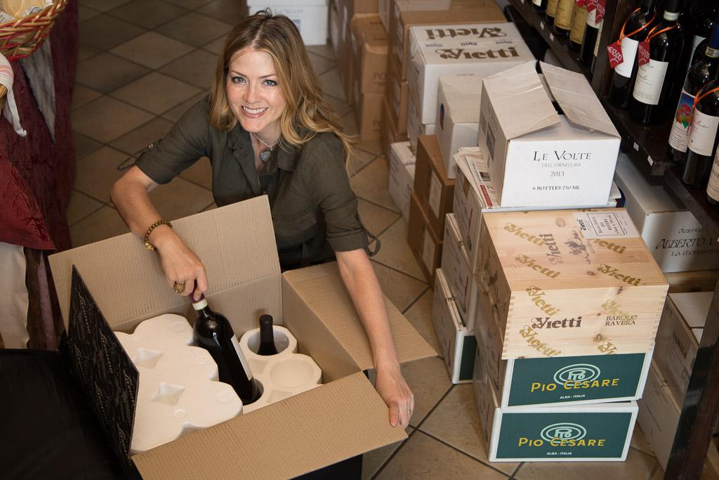 Wine Check Bag Piemonte Italy