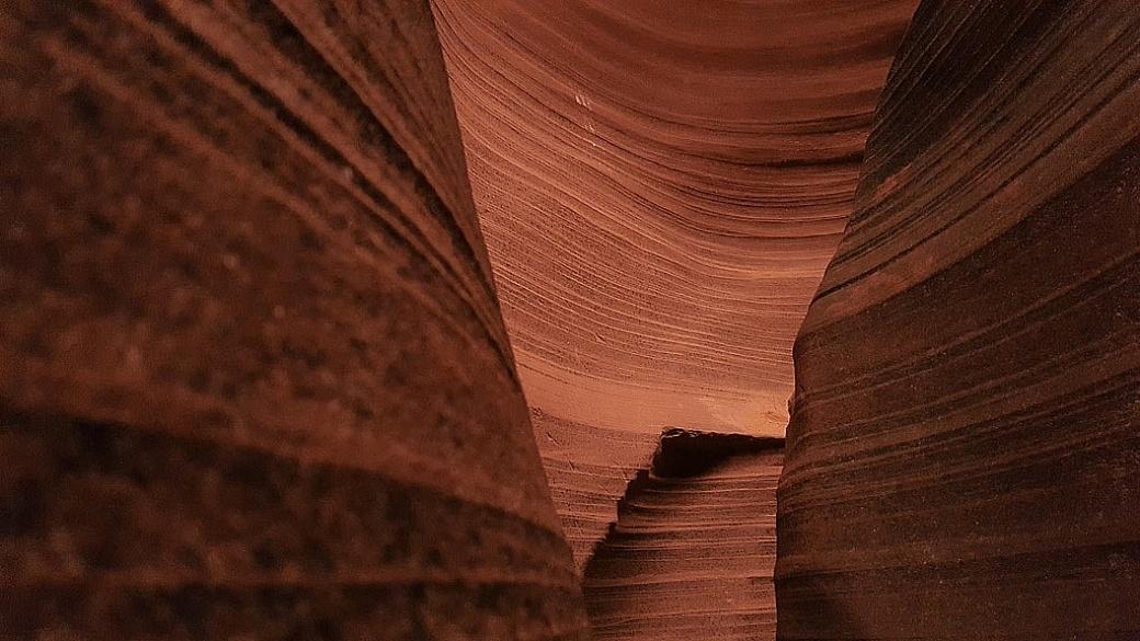 Rattlesnake Canyon in Page, Arizona