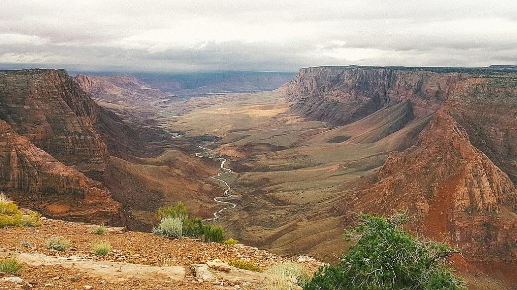 Paria Overlook near the Grand Canyon, Arizona
