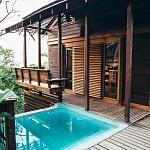 Travel to Nicaragua - Aqua Wellness Resort Treehouse overlooking Tola Bay