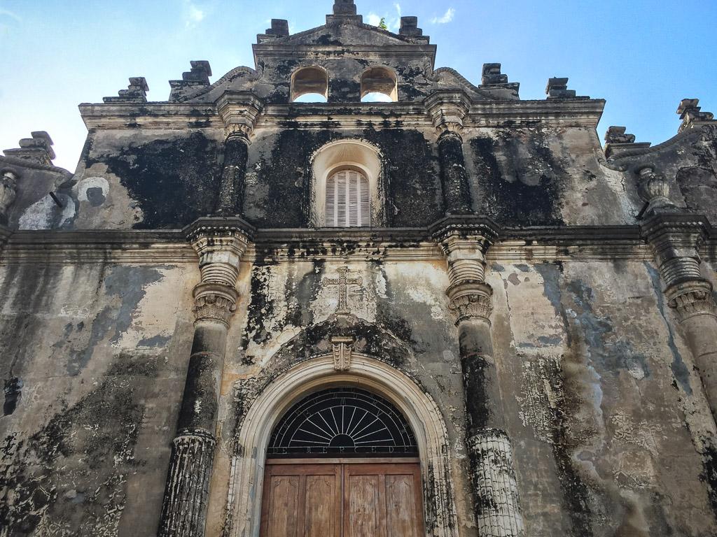 Granada, Nicaragua - burnt out church