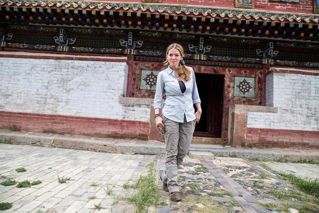 Juliana Dever traveling through Mongolia