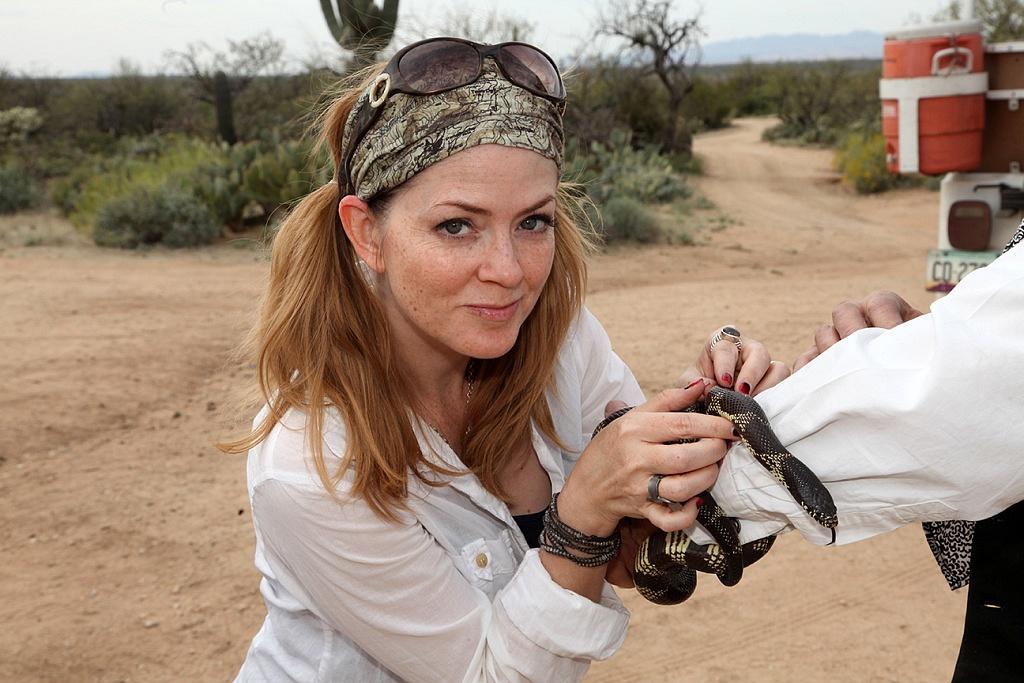 Learn to be a cowboy - Juliana Dever King Snake Sonoran Desert