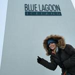Blue Lagoon Iceland in Winter - Juliana Dever