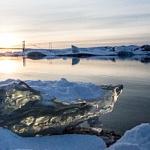 Jokasarlon Ice lagoon Iceland horz