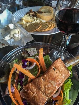 Dinner from La Vieille Ferme | Saguenay Quebec
