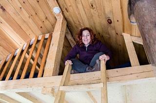 Rachel Leah Cohen tree house Saguenay Canada