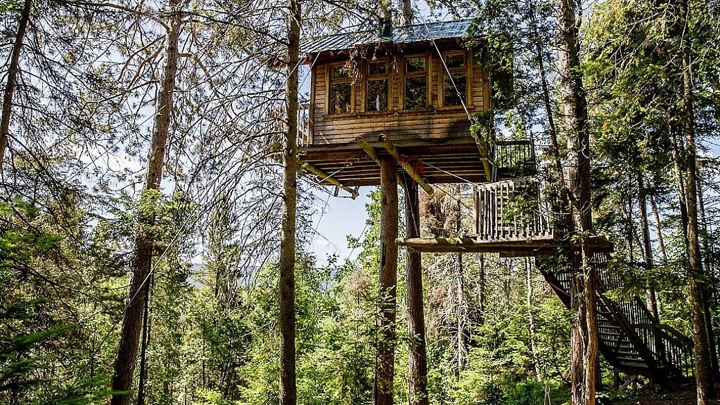 Tree house Cap Jaseux Saguenay Quebec