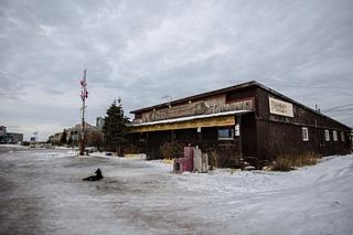 Kelsey Blvd Arctic Trading Churchill Manitoba