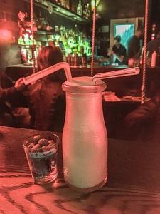 Redheaded Stepchild spiked Milkshake - Austin Weekend Itinerary