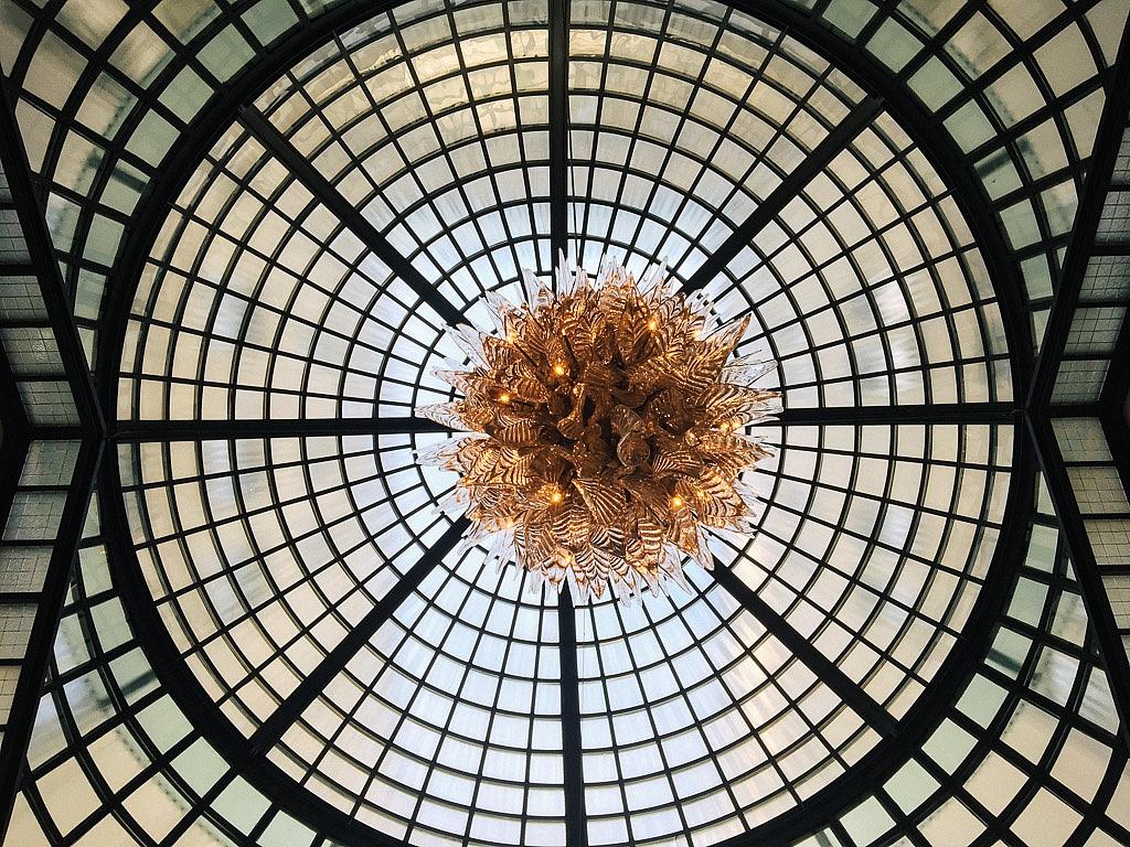 Budapest Four Seasons ceiling