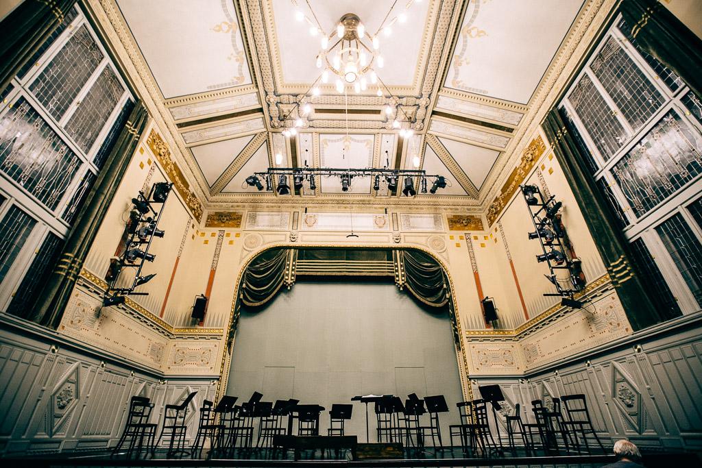 Budapest Franz Liszt Academy of Music room
