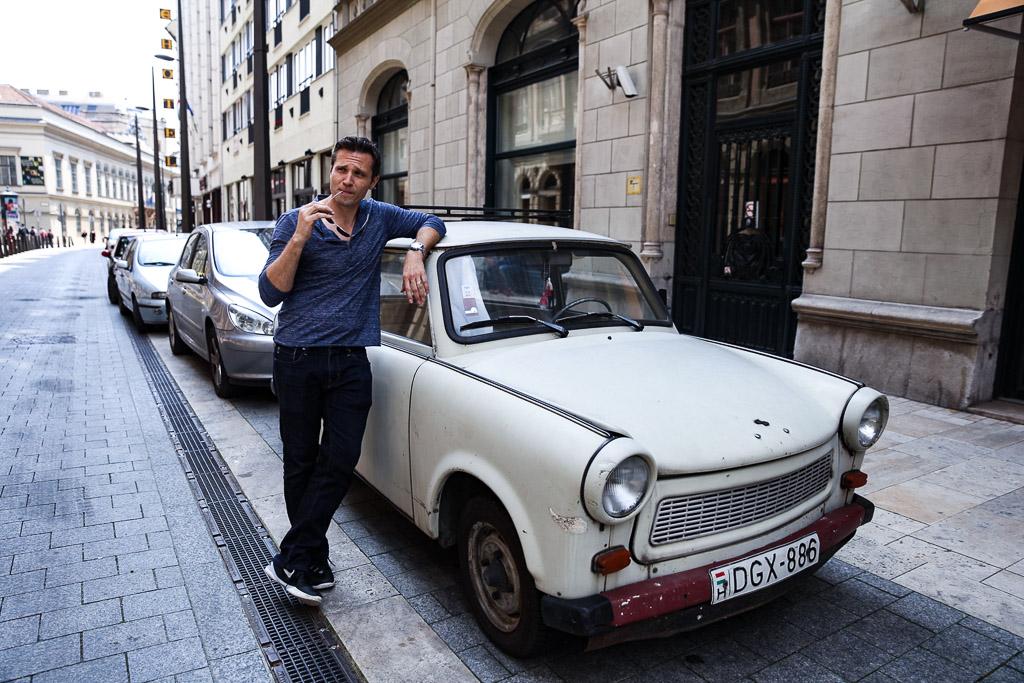 Budapest Seamus Dever Trabant