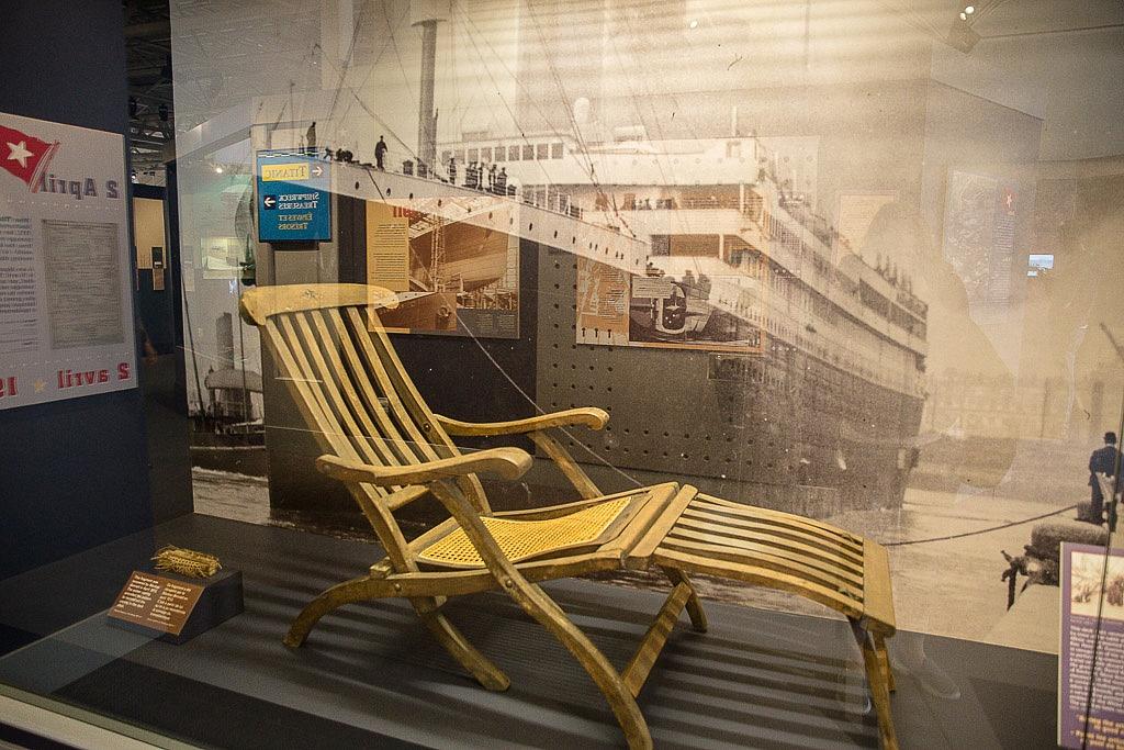 titanic halifax maritime museum titanic deck chair