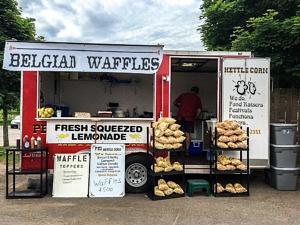 Charlottetown Farmer's Market waffles PEI