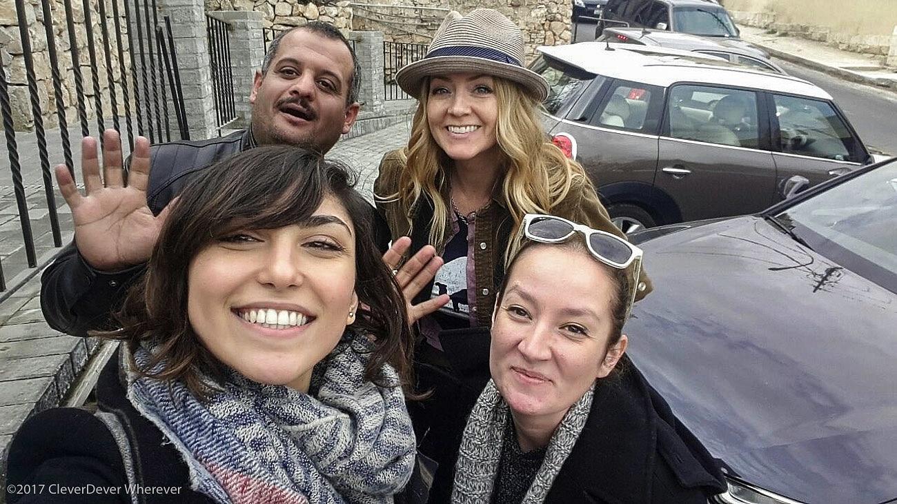 Juliana Dever friends in Jordan