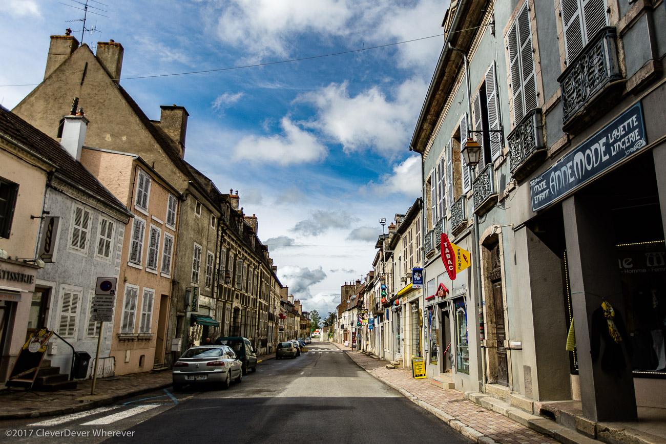 St. Jean sur Saone Burgundy France canal cruise