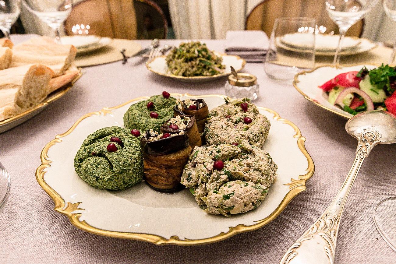 Georgian food pkhali