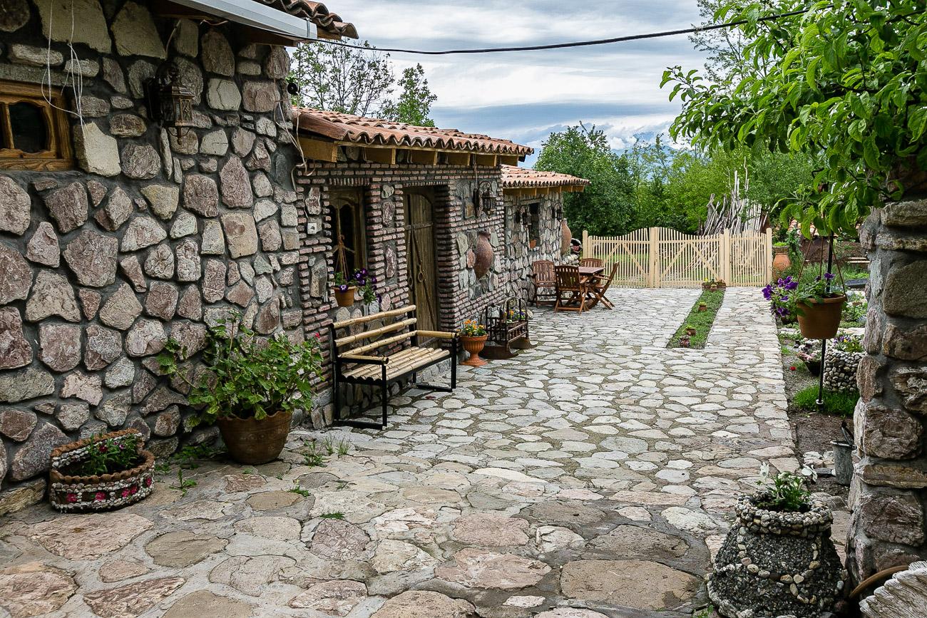 Georgian wine workshops of qvevri maker Zaza Kbilashvili