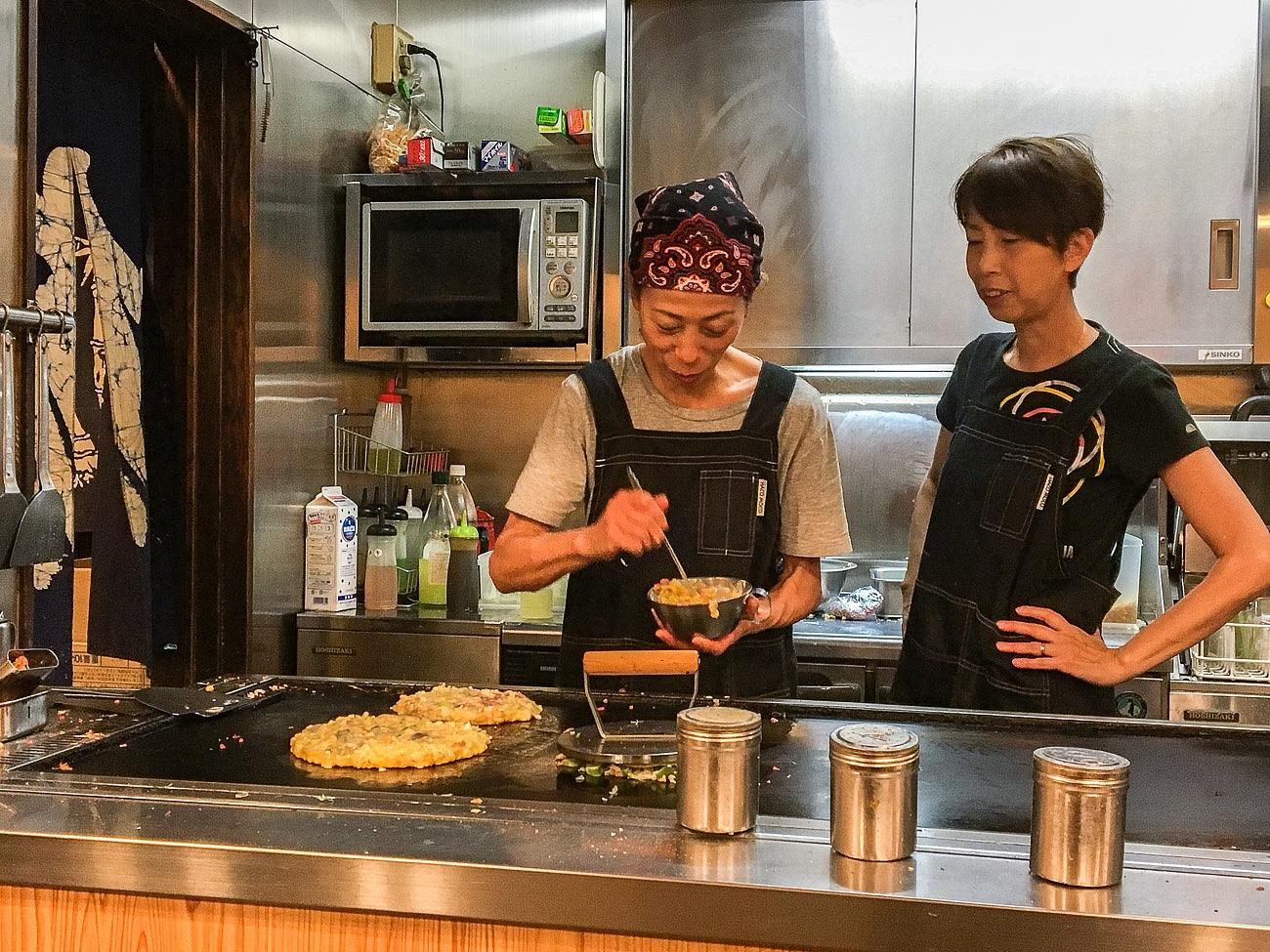 Yasube Okonomiyaki Restaurant Kyoto - Favorite Travel Experiences