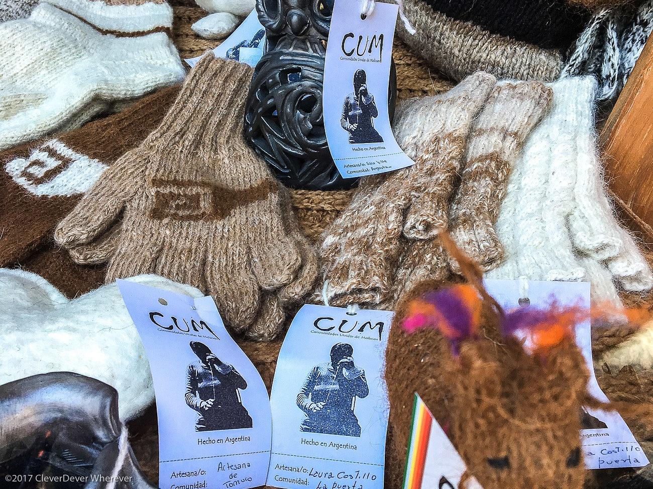 CUM artisan wool Salta shopping