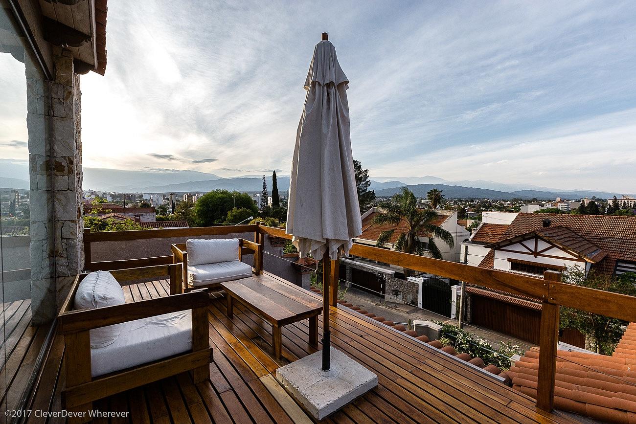 Kkala Boutique Hotel patio - Salta Argentina