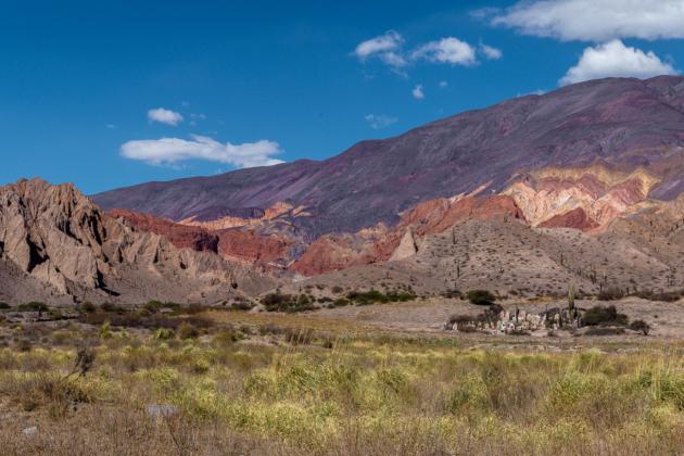 Tolar Grande Andean cemetery