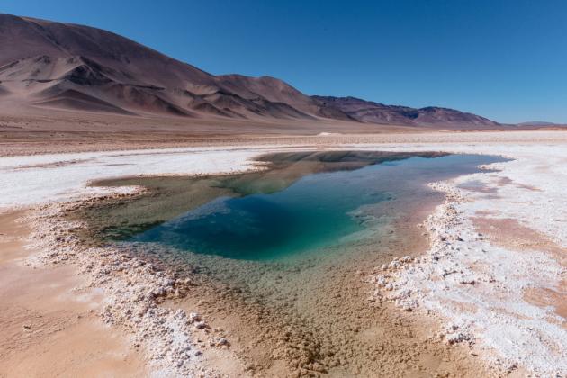 Tolar Grande Salta Argentina - Ojos del Mar