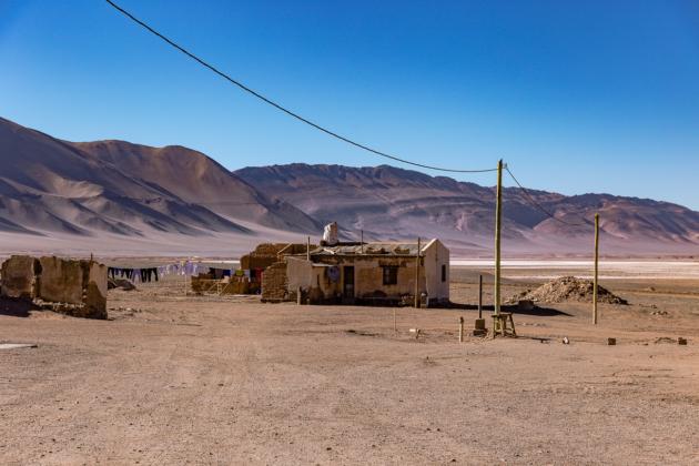 Tolar Grande Salta Argentina mining town