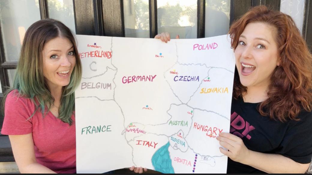 Plan a Trip Through Europe -Rachel Leah Cohen Juliana Dever