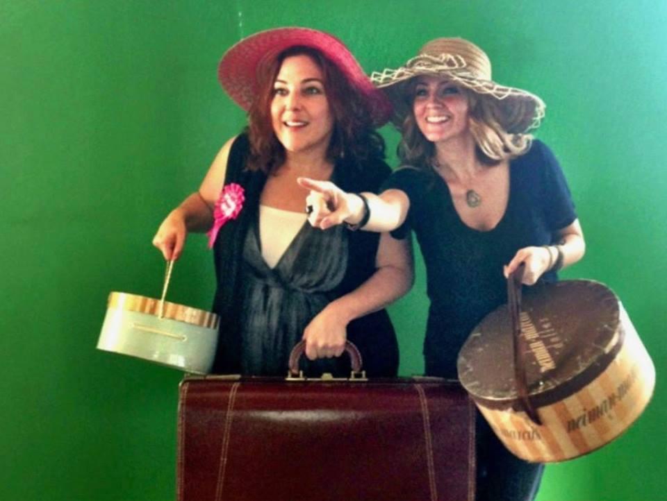 Rachel Leah Cohen and Juliana Dever Packing