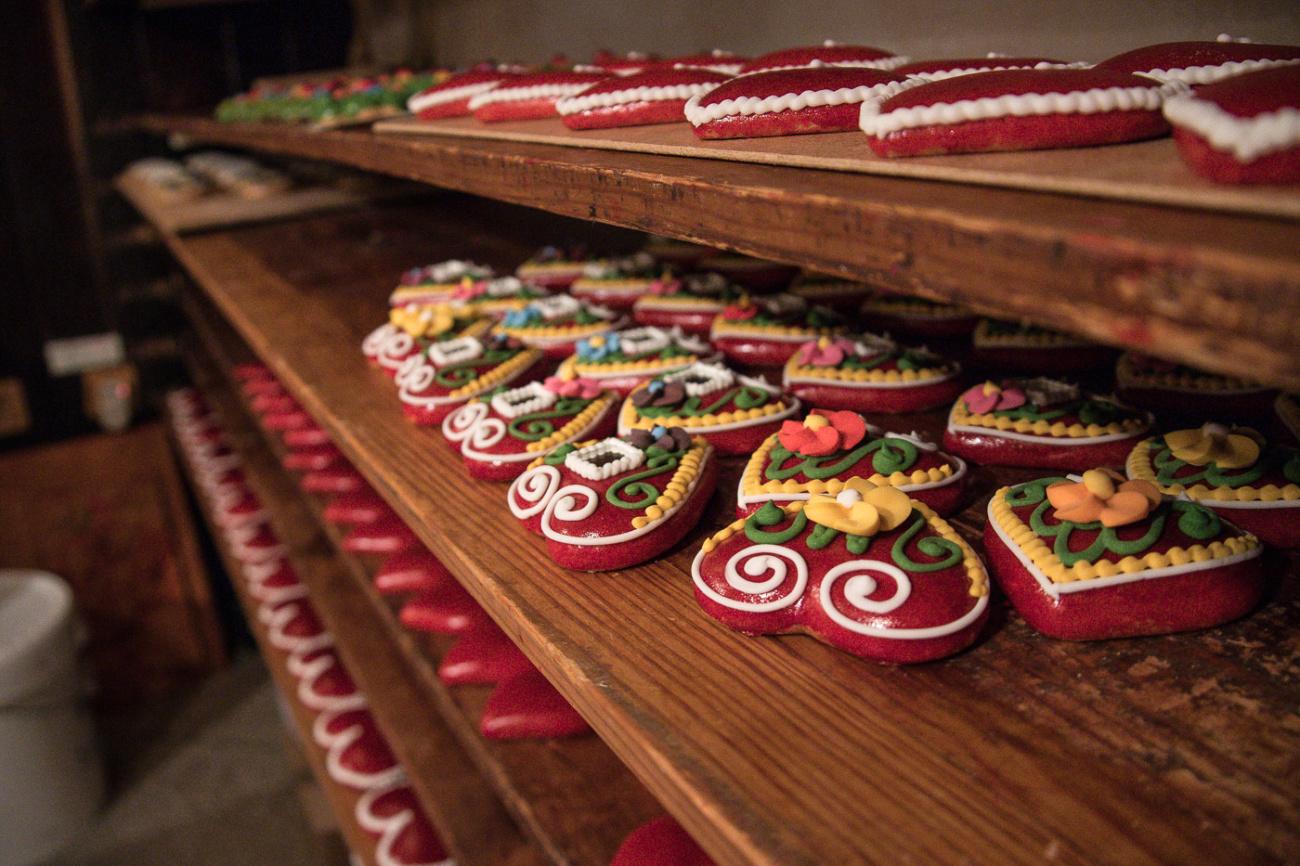 Gingerbread cookies Radovljica Slovenia
