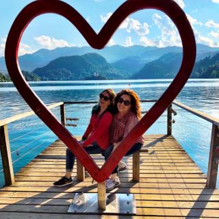 Lake Bled Heart Juliana Dever Rachel Leah Cohen