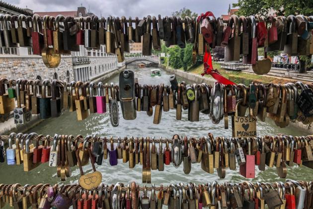 Ljubljana Slovenia Locks