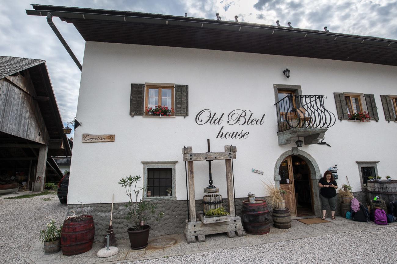 Old Bled House Lake Bled Slovenia