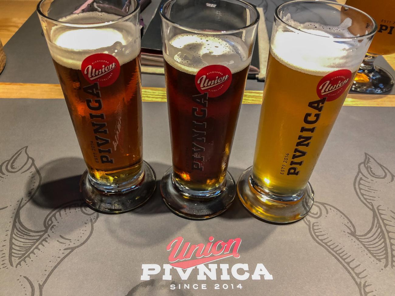 Union Brewery Ljubljana Slovenia