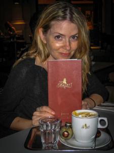 Juliana Dever Mozart Cafe Vienna Austria