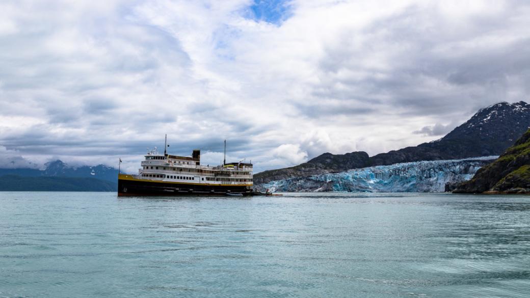 Uncruise S. S. Legacy Lamplugh Glacier Alaska