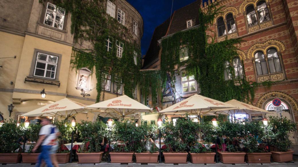 Oldest restaurant Vienna Austria Griechenbeisl