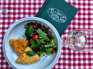Cheese Salad Zum Martin Sepp Vienna Austria