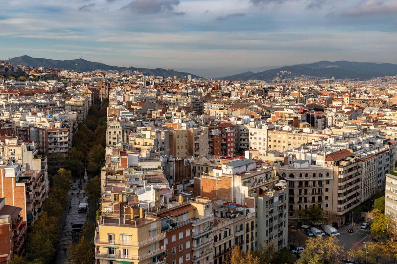 Barcelona from Segreda