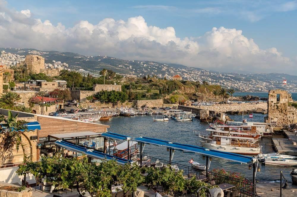 beautiful Mediterranean oceanfront in Lebanon